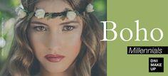 Hoy hace un día estupendo para sacar tu lado más boho millennial! Consigue tu maquillaje ideal con nuestro Lipstick Redwine · nº 8, Express Iluminador · nº 1, Rouge Cream · nº 2 y la Esponja Técnica Mango para una increíble aplicación!  Be a Millennial, use #dnimakeup
