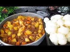 KARNABAHARI BİRDE BÖYLE DENEYİN✅ İDDİA EDİYORUM HEP BÖYLE YAPMAK İSTEYECEKSİNİZ💯 KARNABAHAR YEMEĞİ - YouTube Mashed Potatoes, Pasta, Ethnic Recipes, Youtube, Food, Whipped Potatoes, Smash Potatoes, Essen, Meals