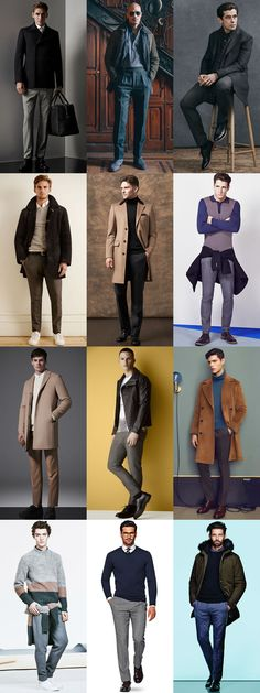 Men's Wool Trousers Outfit Inspiration Lookbook