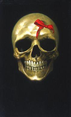 pretty lady skull