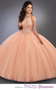 Beloving style 4774 • Strapless tulle quinceanera ball gown with sweetheart neck line, bodice with beading detail and lace-up closure, basque waist line, and matching bolero.
