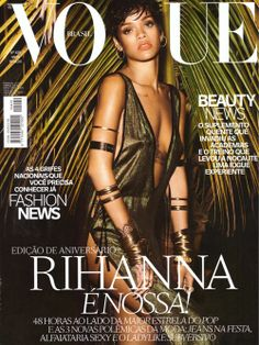 Gucci Cover - Vogue Brazil, May 2014