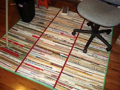 Selvage Blog: Awesome Selvage Rug! I heart this!!!