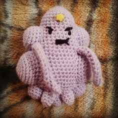 Ravelry: Adventure Time: Lumpy Space Princess pattern by Michelle Malice