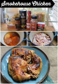 Dutch Oven Smokehouse Chicken ~ http://www.southernplate.com