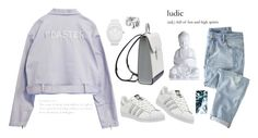 """""""Untitled #28"""" by nikipapas on Polyvore featuring adidas, Marc by Marc Jacobs, Wrap and ASOS"""