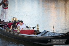 Antonio And Annamarie S Surprise Gondola Proposal Newport Beach