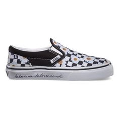 checkered daisy vans