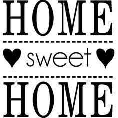 Stickers muraux citations - Sticker Home Sweet Home - ambiance-sticker.com Stickers Citation, Les Stickers, Ambiance Sticker, Sweet Home, Home Deco, Project Ideas, Wifi, Decoupage, Cricut