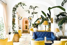 Getaway Issue: Le Sirenuse's The Positano Cocktail | Tory Daily