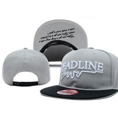 Simple but artistic design by Deadline! Grab your Gray/Black Deadline Rifle Snapback Hat now at http://streetwearhub.com/hats/snapback-hats/deadline-rifle-snapback-hat-gray-black #Deadline #snapback #streetwear #streetfashion #urbanwear