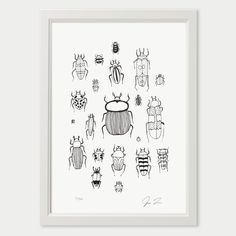 Illustration by Justin LandonSigned and NumberedLaser Print in Deep BlackPrinted on Hahnemühlen Drawing PaperSIZES:A4: 21.0 x 29.7cm,   8.27 x 11.69 inchesPrice: 15.00 EurosA3: 29...