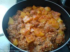 Συνταγή Χοιρινή τηγανιά με μουστάρδα και μέλι Mince Meat, Curry, Ethnic Recipes, Flora, Curries, Plants