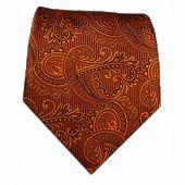 Twill Paisley - Burnt Orange || Ties - Wear Your Good Tie. Every Day - Twill Paisley - Burnt Orange Ties