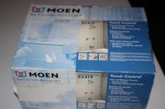MOEN Tub & Shower Faucet Set Touch Control - #82419 Chrome Finish New #Moen