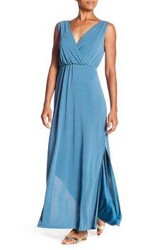 Surplice V-Neck Maxi Dress by Spense on @nordstrom_rack