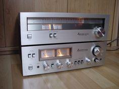 Mitsubishi DA-U210 Verstärker-Amplifier & DA-F210S Stereo Tuner