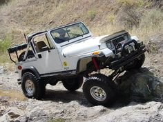Jeep Wrangler YJ photos, picture # size: Jeep Wrangler YJ photos - one of the models of cars manufactured by Jeep Jeep Wrangler Yj, Jeep Tj, Suv Trucks, Jeep Truck, Lifted Trucks, Jeep Wave, Cool Jeeps, Offroad, Monster Trucks