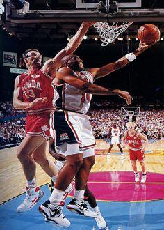 "sale retailer 90296 fbe41 Charles Barkley  Nike Air Force 180 ""Olympic"" Usa Dream Team, Olympic  Basketball"