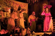 Pirates of the Caribbean. New Orleans Square, Disneyland Park.