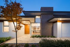 Rosin Residence • DNA Architects Contemporary Beach House, Modern House Design, New Home Construction, Custom Built Homes, New Home Builders, Display Homes, Architect House, New Home Designs, Architecture Design