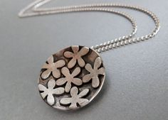 Flower Pendant Washer Necklace, Pendant Necklace, Flower Pendant, Flowers, Jewelry, Jewellery Making, Floral, Jewelery, Jewlery