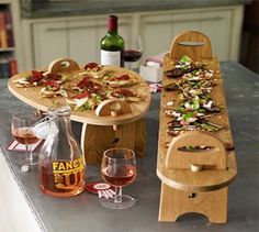 Antipasti! Jamie at Home Platters. Solid oak beautifully crafted - www.jamieathome.me/zoejones