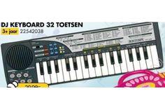 dj keyboard 32 toetsen bontempi