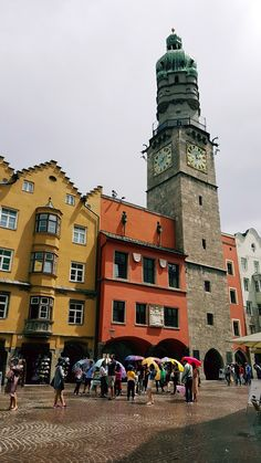 City Tower at the oldcity Innsbruck, San Francisco Ferry, Austria, Tower, City, Building, Travel, Voyage, Lathe