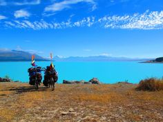 Get your photo taken in front of Lake Pukaki, in Canterbury - 30 mins from Mt Cook National Park. Driving In New Zealand, 5 Hours, Canterbury, Us Images, National Parks, Bucket, Backyard, Cook, Awesome