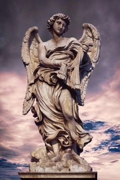 travel-tuesday-religious-highlights- angel statues rome lazio italy