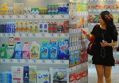 Seoul's Homeplus Virtual Supermarket Store (6 Pictures + Clip)