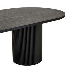 Add visual interest and unique personality to your everyday living spaces with the Benjamin Ripple Oval Dining Table. Boasting two pillar bases with a bold rippled effect, the Benjamin adds a layer of tactility to your interiors. Its durable timber timber Dining Area, Dining Table, Dining Room, Classic Interior, Apartment Kitchen, Contemporary, Modern, Kitchen Design, Living Spaces