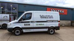 The Green I Signs Blog: New @MercedesBenz van for @ValtraOficial  #darlobi...
