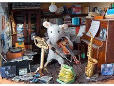 Heye Puzzle - Mouse Mansion, Fiddler - 4001689295592 - Heye   buy ...