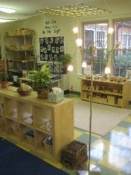 I'm looking for ways to incorporate more light into my classroom. I really dig the tree lamp!