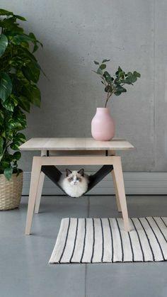 cat furniture Kikko + Lulu: Comfy Cat Furniture From Labbvenn - Design Milk