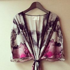 Beautiful hanging kimono. The Mesmerizing Peonies. Get yours from our eshop!
