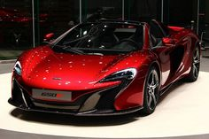 The McLaren held the world record for the fastest production car in the world for many years. The car was first produced in 1992 and still looks great today. 2015 Mclaren 650s, Slr Mclaren, Mclaren Sports Car, Convertible, Sweet Cars, Performance Cars, Hot Cars, Cars And Motorcycles, Luxury Cars