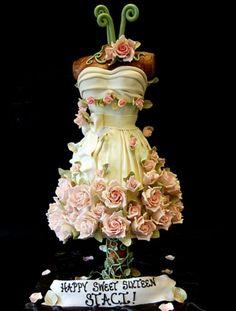 dress cake...crazy