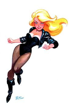 Bruce Timm: Black Canary