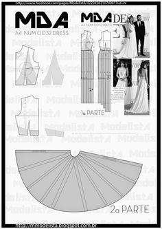 ModelistA: A4 - NUM 0032 DRESS