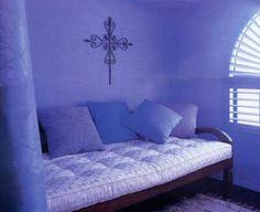 meditation room purple