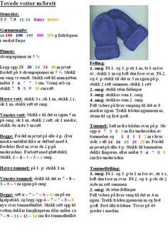 Tova votter Baby Cardigan Knitting Pattern Free, Baby Knitting Patterns, Crochet Patterns, Knit Mittens, Knitted Gloves, Free Crochet, Knit Crochet, Baby Barn, Knitting For Kids