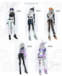 Clothing Sketches, Dress Sketches, Fashion Design Drawings, Fashion Sketches, Estilo Harajuku, Vetements Clothing, Hero Costumes, Anime Dress, Drawing Clothes
