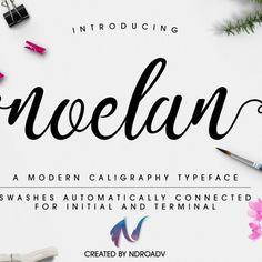 Noelan Free Font Cover