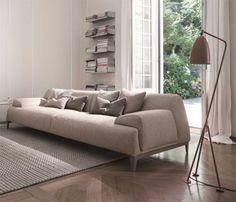 www.digsdigs.com functional-and-comfy-cave-sofa-with-flowing-shapes