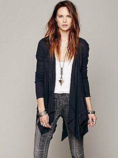 Free People Swing Time Cardigan at Free People Clothing Boutique
