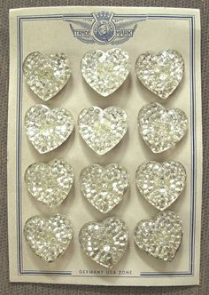 German Heart Buttons by fancylinda, via Flickr