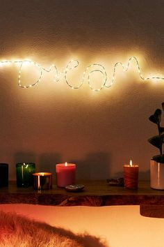 Make Your Own Fairy Light Sign Kit | Urban Outfitters